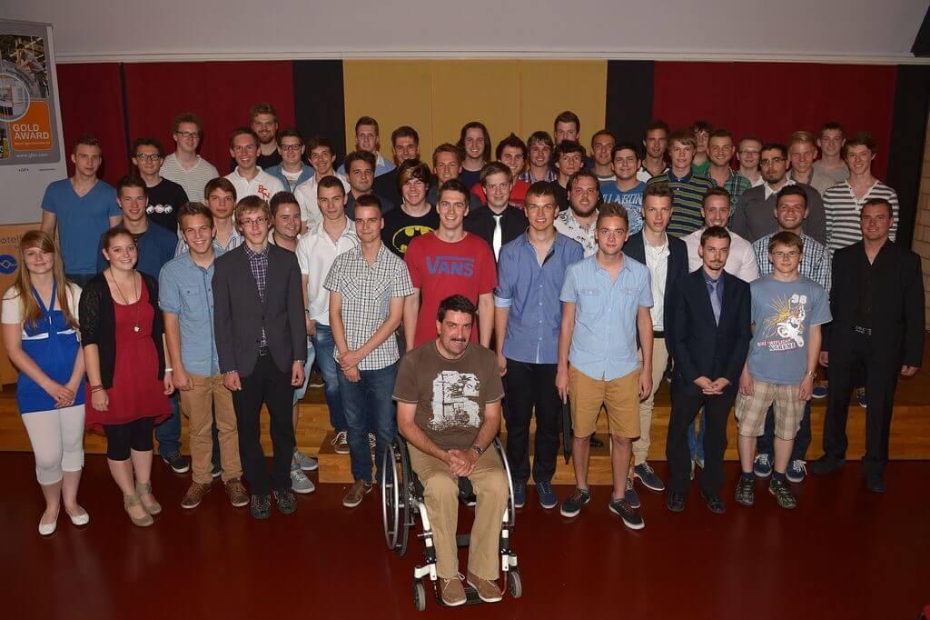 VAKB-Lehrabschlussfeier 2014