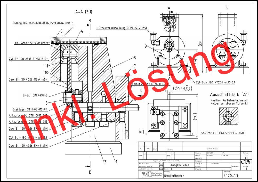 VAKB-Zwischenprüfung 2020: Druckluftmotor