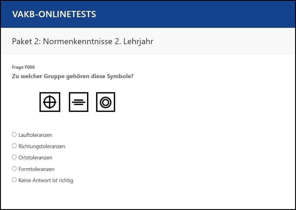 VAKB-Onlinetests Paket 02